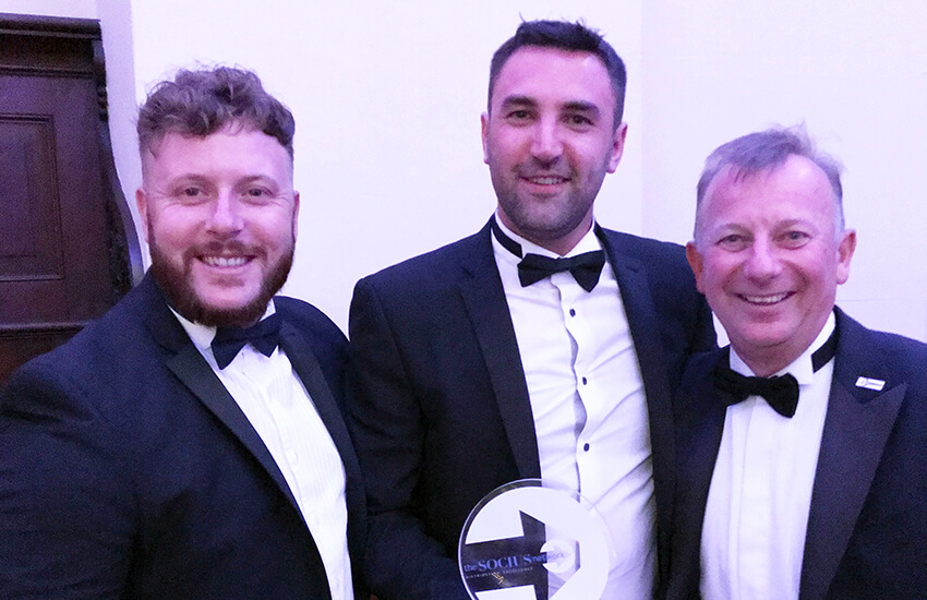 1st Place at Socius' Awards 2018