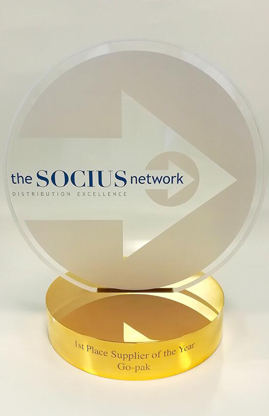 Go-Pak Socius 1st Place 2019