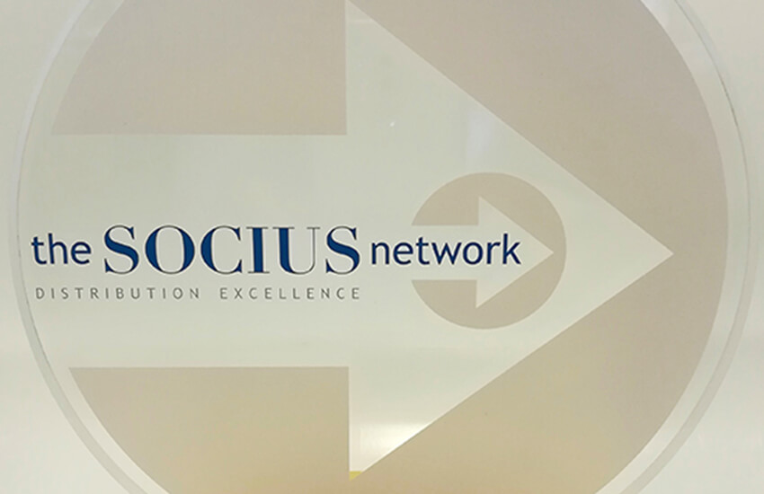 Socius Supplier of the Year Award 2019