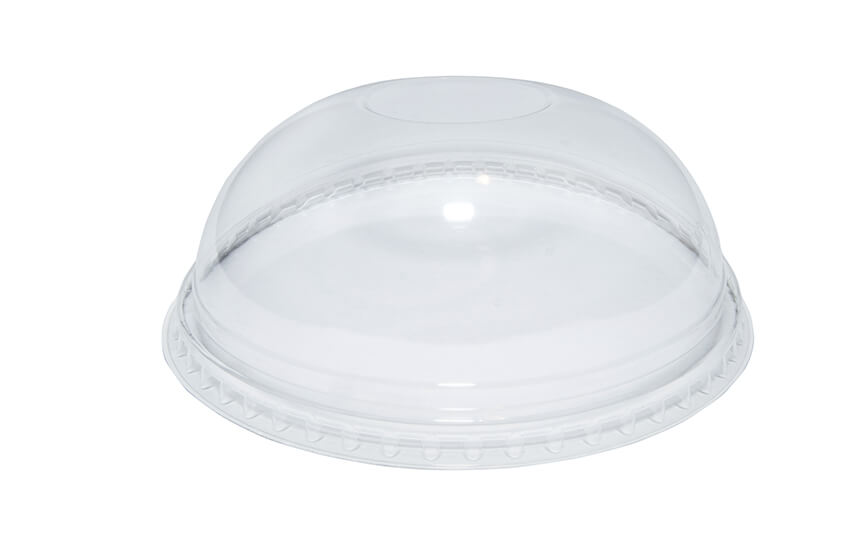 A10042 9oz PET Domed Lid (no hole)