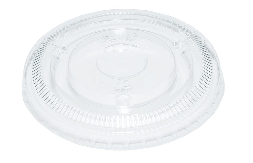 A18008 3.25 - 4 - 5.5oz PET Lid Clear