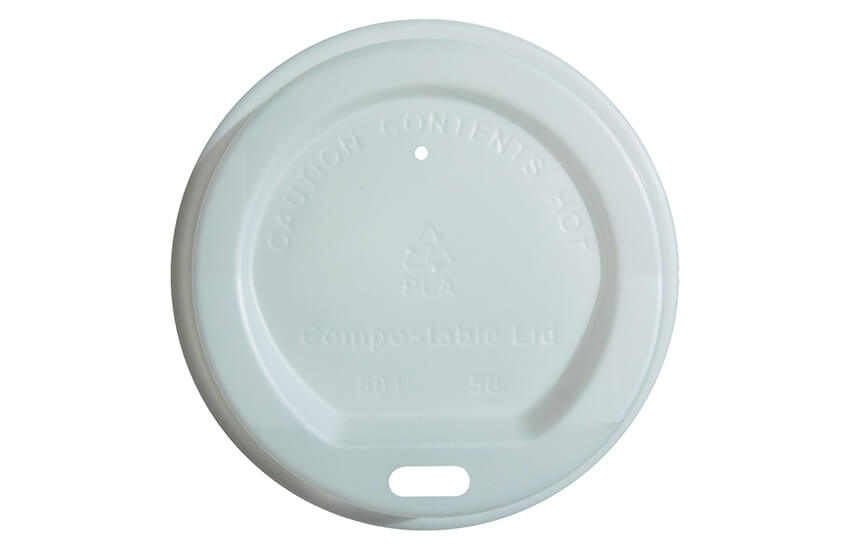 B10002 8oz PLA Sip Through Coffee Cup Lid
