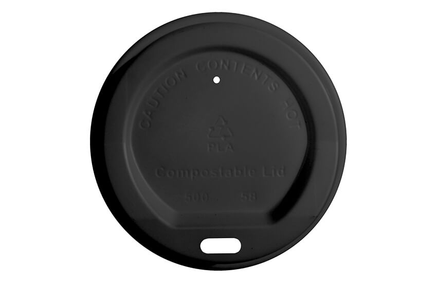 B10012 8oz PLA Sip Through Coffee Cup Lid