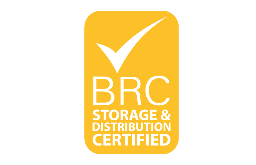 BRC storage and distribution certified