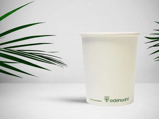 Compostable PLA Soup Containers & Lids