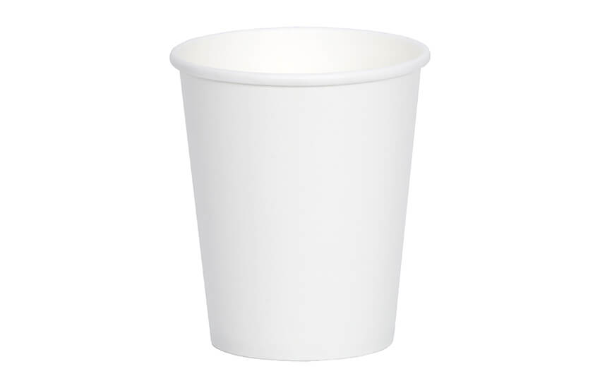 D01022 8oz Single Wall Cup (white)