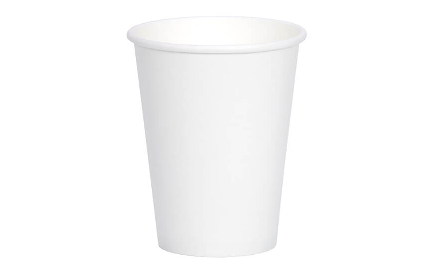 D01023 12oz Single Wall Cup (white)