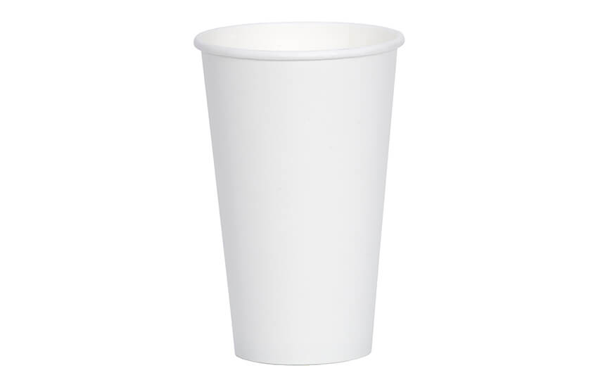 D01024 16oz Single Wall Cup (white)