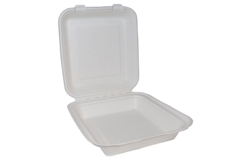 D06005 square lunch box 8x8in