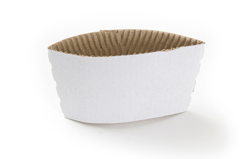 D08022 8-10oz Coffee Cup Clutch (white)