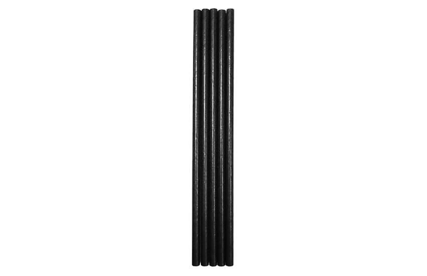 D22050 Black Paper Straw