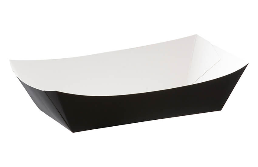 D40015 Large Meal Tray (black)