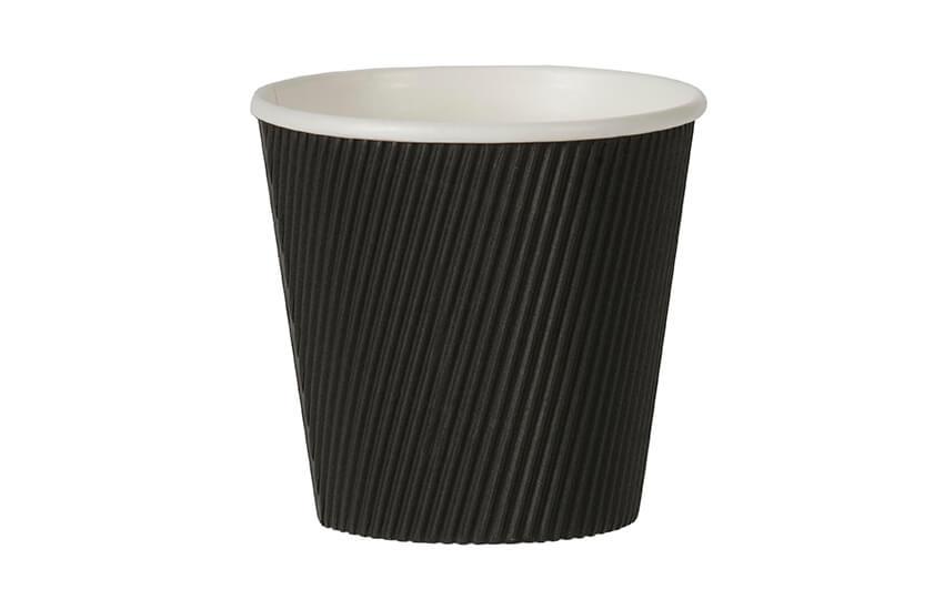 D43033 19oz Large Ripple Pot (Black)