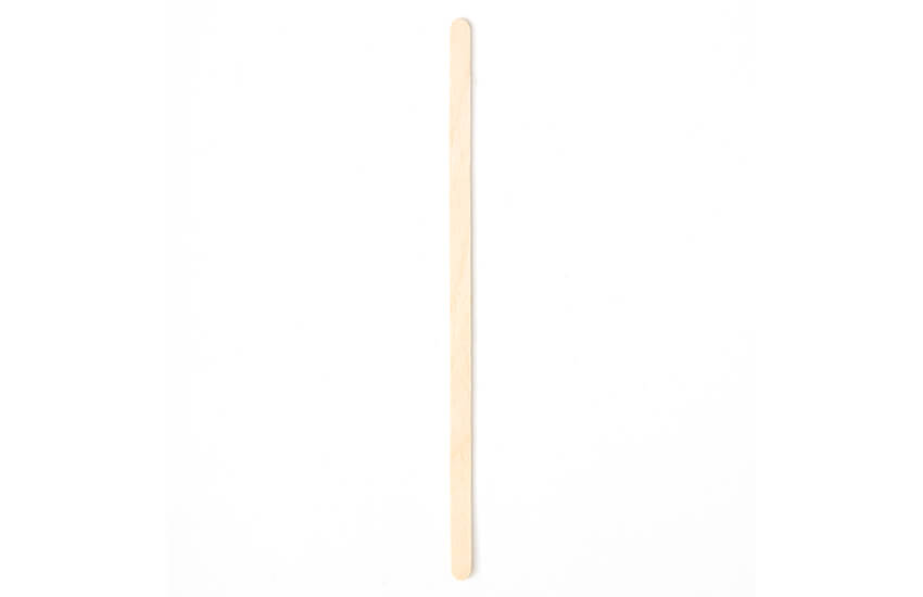 "G01005 Wooden Stirrer 140mm (5.5"")"