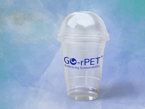 rPET Smoothie Cups & Lids