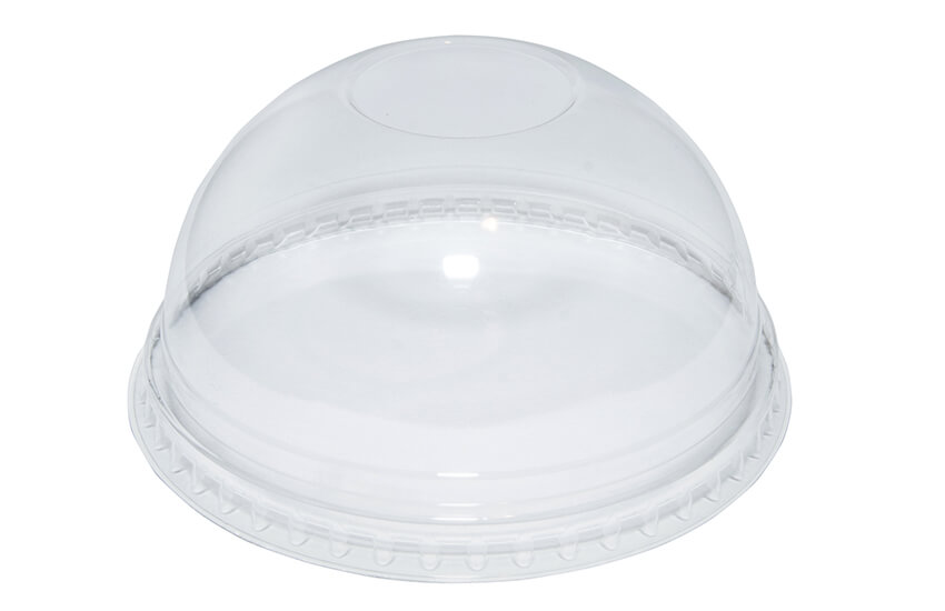 R10043 12oz rPET Domed Lid (no hole)