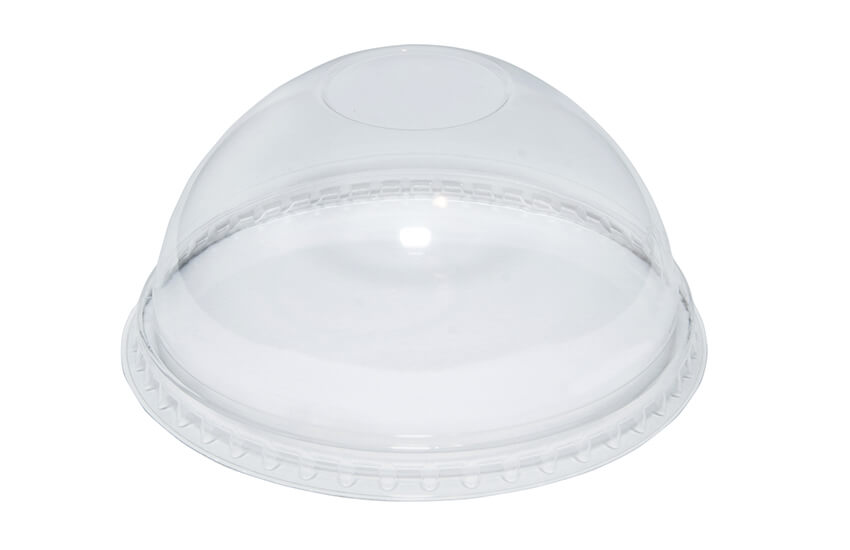 R10044 16oz rPET Domed Lid (no hole)