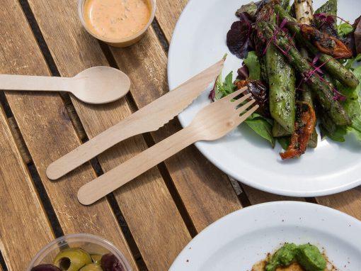 Wooden Cutlery & Skewers