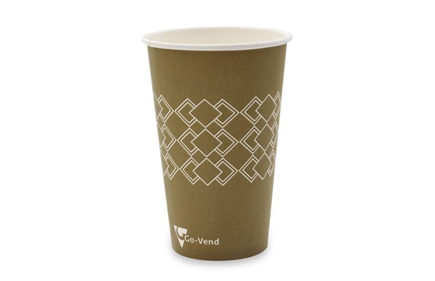 D01073 12oz Single Wall Vending Cup