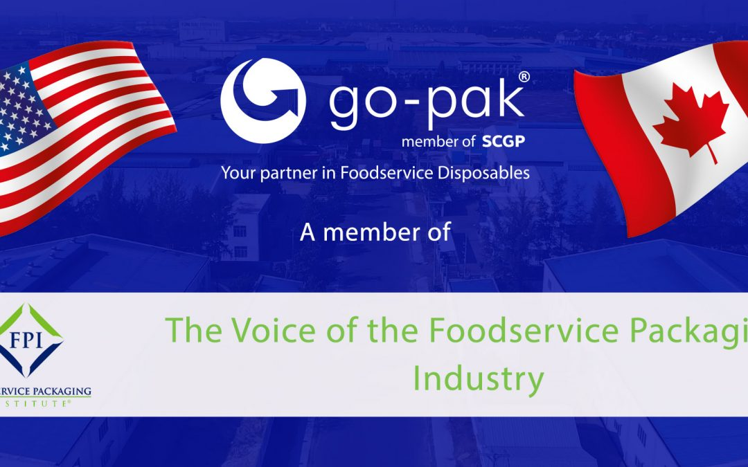 Go-Pak has now become a member of the Food Packaging Institute (FPI)